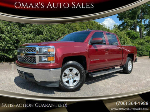 2015 Chevrolet Silverado 1500 for sale at Omar's Auto Sales in Martinez GA