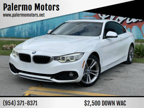 2015 BMW 4 Series for sale at Palermo Motors in Hollywood FL