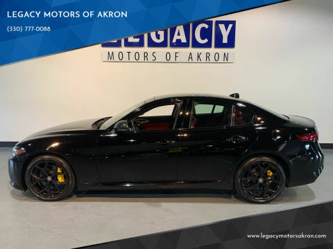 2019 Alfa Romeo Giulia for sale at LEGACY MOTORS OF AKRON in Akron OH