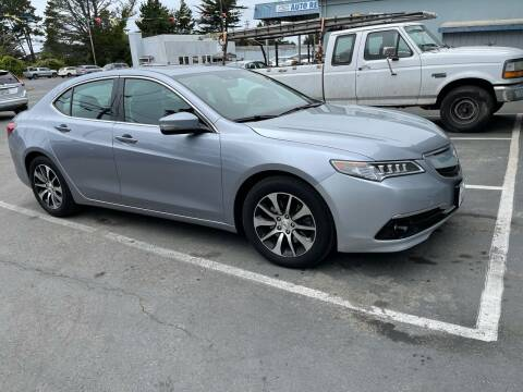 2015 Acura TLX for sale at HARE CREEK AUTOMOTIVE in Fort Bragg CA