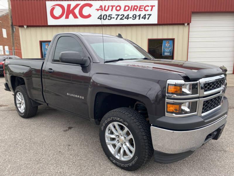 2015 Chevrolet Silverado 1500 for sale at OKC Auto Direct in Oklahoma City OK