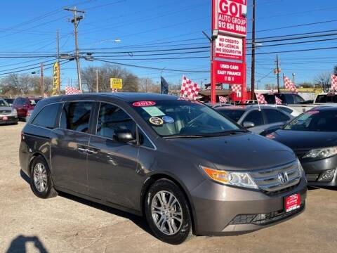 2013 Honda Odyssey for sale at GOL Auto Group in Austin TX