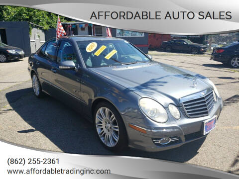 2007 Mercedes-Benz E-Class for sale at Affordable Auto Sales in Irvington NJ