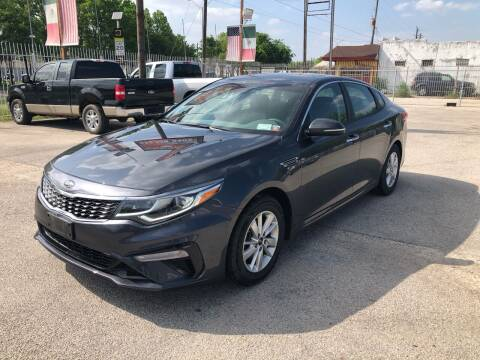 2019 Kia Optima for sale at Saipan Auto Sales in Houston TX
