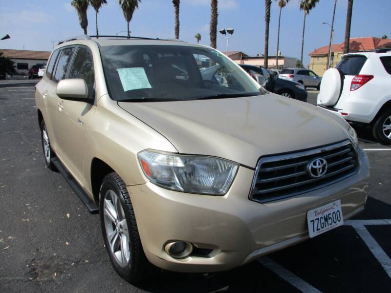 2009 Toyota Highlander for sale at F & A Car Sales Inc in Ontario CA