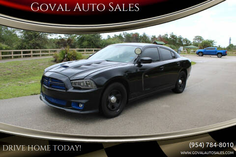 2014 Dodge Charger for sale at Goval Auto Sales in Pompano Beach FL