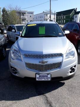 2015 Chevrolet Equinox for sale at MERROW WHOLESALE AUTO in Manchester NH