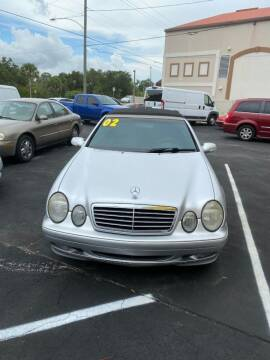 2002 Mercedes-Benz CLK for sale at DUNEDIN AUTO SALES INC in Dunedin FL