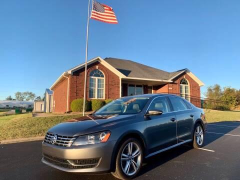 2014 Volkswagen Passat for sale at HillView Motors in Shepherdsville KY