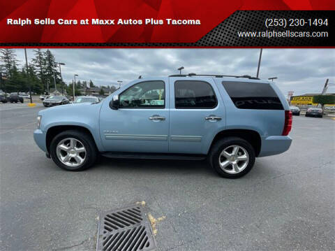 2011 Chevrolet Tahoe for sale at Ralph Sells Cars at Maxx Autos Plus Tacoma in Tacoma WA