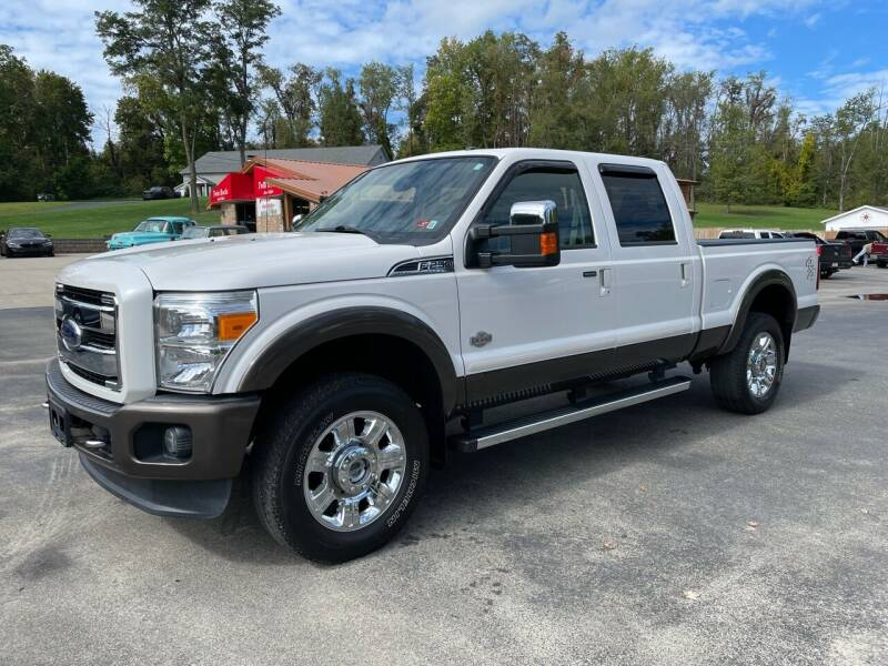 2016 Ford F-250 Super Duty for sale at Twin Rocks Auto Sales LLC in Uniontown PA
