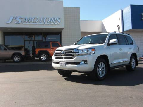 2017 Toyota Land Cruiser for sale at J'S MOTORS in San Diego CA