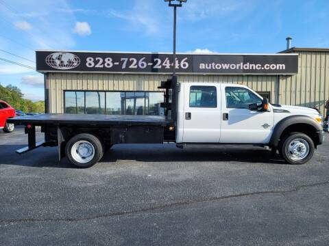 2013 Ford F-550 Super Duty for sale at AutoWorld of Lenoir in Lenoir NC