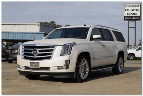2015 Cadillac Escalade ESV for sale at STRICKLAND AUTO GROUP INC in Ahoskie NC