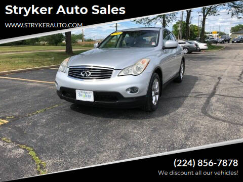 2008 Infiniti EX35 for sale at Stryker Auto Sales in South Elgin IL