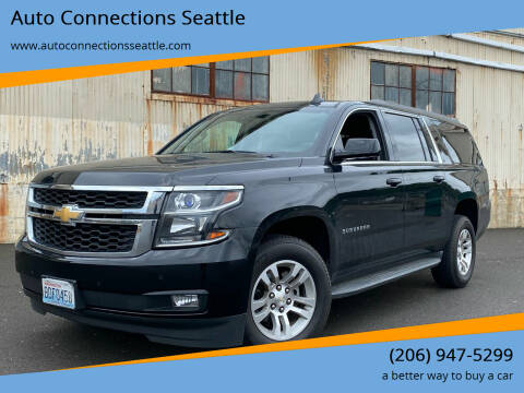 2016 Chevrolet Suburban for sale at Auto Connections Seattle in Seattle WA