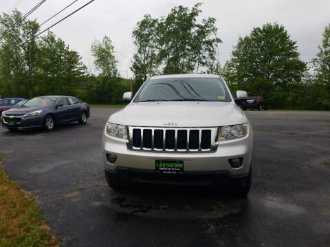 2011 Jeep Grand Cherokee for sale at L & R Motors in Greene ME