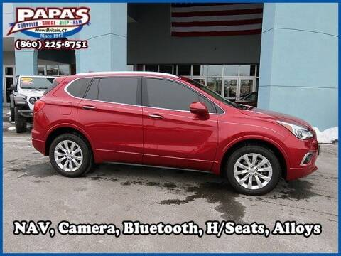 2017 Buick Envision for sale at Papas Chrysler Dodge Jeep Ram in New Britain CT