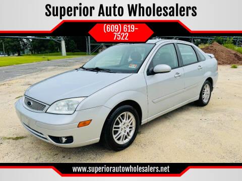 2005 Ford Focus for sale at Superior Auto Wholesalers in Burlington NJ