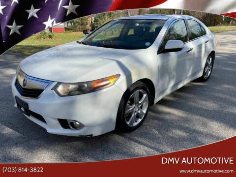 2012 Acura TSX for sale at DMV Automotive in Falls Church VA