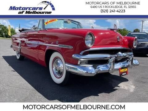 1953 Ford Crestline for sale at Motorcars of Melbourne in Rockledge FL
