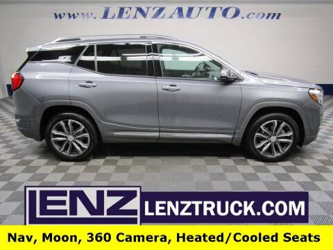 2019 GMC Terrain for sale at LENZ TRUCK CENTER in Fond Du Lac WI