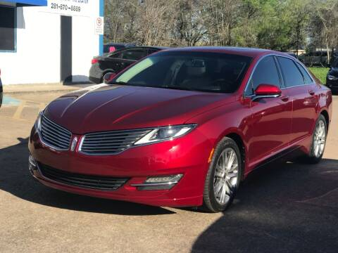 2013 Lincoln MKZ for sale at Discount Auto Company in Houston TX