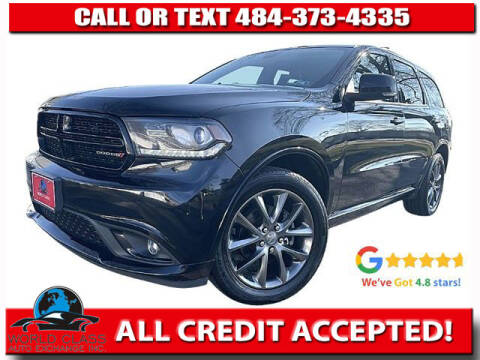 2017 Dodge Durango for sale at World Class Auto Exchange in Lansdowne PA