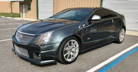 2012 Cadillac CTS-V for sale at Suncoast Sports Cars and Exotics in West Palm Beach FL