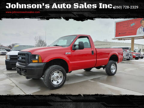 2007 Ford F-350 Super Duty for sale at Johnson's Auto Sales Inc. in Decatur IN