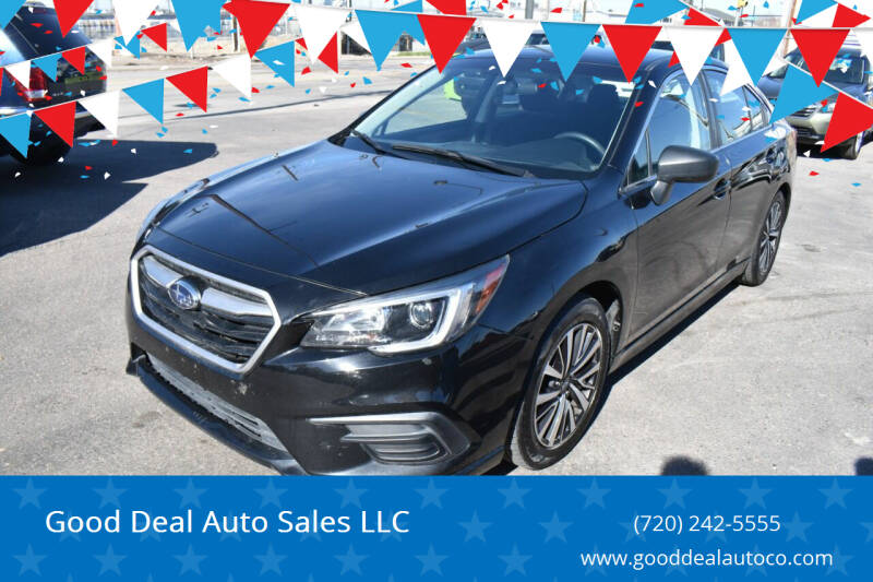 2018 Subaru Legacy for sale at Good Deal Auto Sales LLC in Denver CO