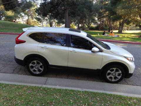 2017 Honda CR-V for sale at N c Auto Sales in Los Angeles CA