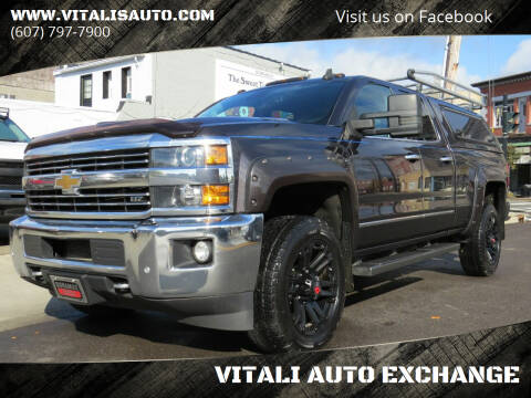 2015 Chevrolet Silverado 2500HD for sale at VITALI AUTO EXCHANGE in Johnson City NY