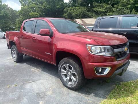 2018 Chevrolet Colorado for sale at Lux Auto in Lawrenceville GA