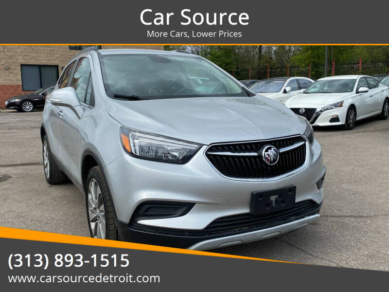 2017 Buick Encore for sale at Car Source in Detroit MI