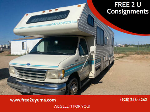1993 Thor Industries Majestic for sale at FREE 2 U Consignments in Yuma AZ