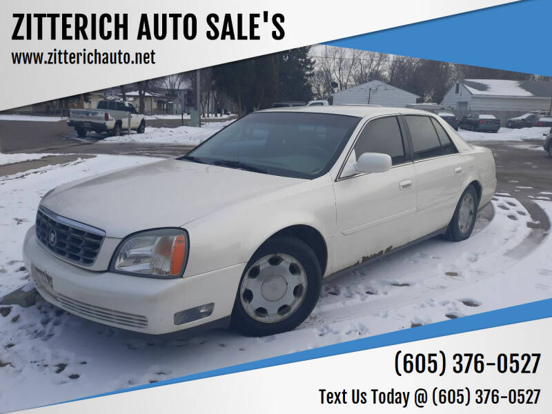 2000 Cadillac Seville for sale at ZITTERICH AUTO SALE'S in Sioux Falls SD
