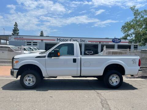 2014 Ford F-250 Super Duty for sale at MOTOR CARS INC in Tulare CA