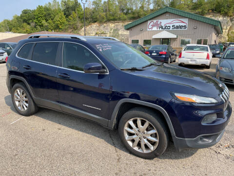 2015 Jeep Cherokee for sale at Gilly's Auto Sales in Rochester MN