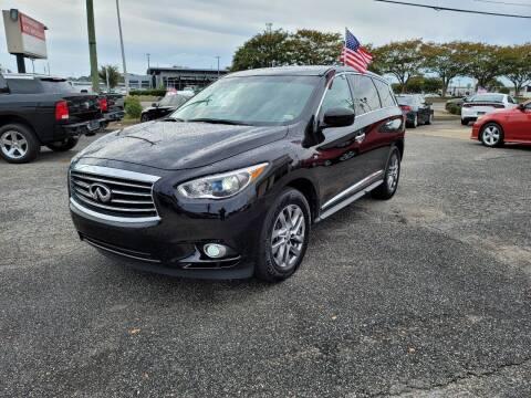 2015 Infiniti QX60 for sale at International Auto Wholesalers in Virginia Beach VA