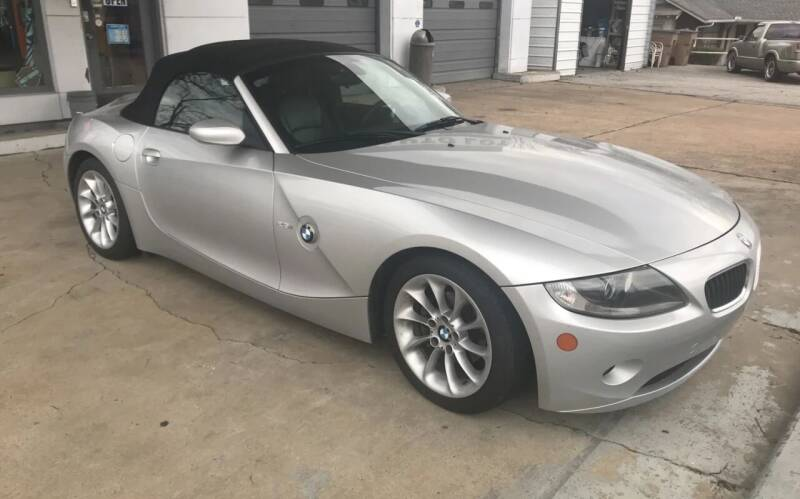 2005 BMW Z4 for sale at The Auto Lot and Cycle in Nashville TN