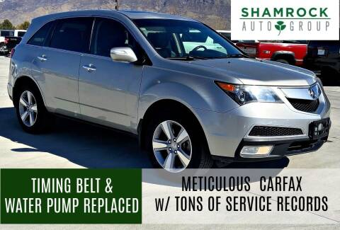 2011 Acura MDX for sale at Shamrock Group LLC #1 in Pleasant Grove UT