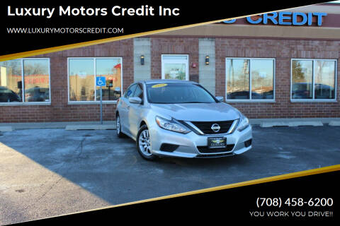 2016 Nissan Altima for sale at Luxury Motors Credit Inc in Bridgeview IL