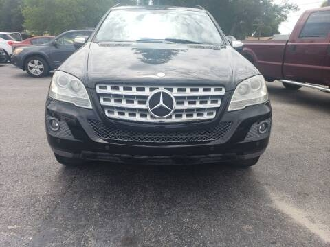 2010 Mercedes-Benz M-Class for sale at Linus International Inc in Tampa FL