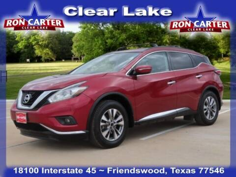 2015 Nissan Murano for sale at Ron Carter  Clear Lake Used Cars in Houston TX