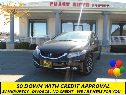 2013 Honda Civic for sale at Chase Auto Credit in Oklahoma City OK