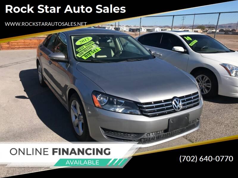 2012 Volkswagen Passat for sale at Rock Star Auto Sales in Las Vegas NV