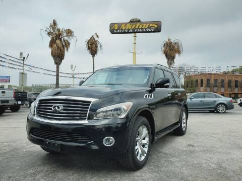2013 Infiniti QX56 for sale at A MOTORS SALES AND FINANCE - 6226 San Pedro Lot in San Antonio TX