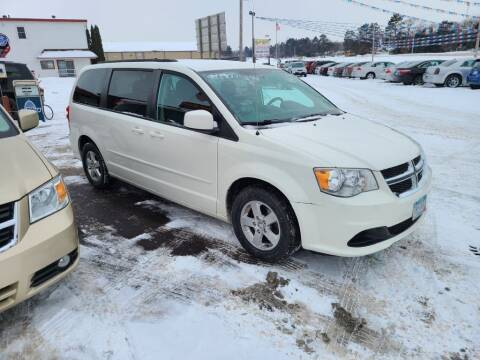 2012 Dodge Grand Caravan for sale at Rum River Auto Sales in Cambridge MN