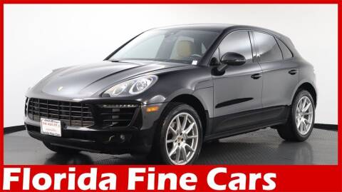 2017 Porsche Macan for sale at Florida Fine Cars - West Palm Beach in West Palm Beach FL